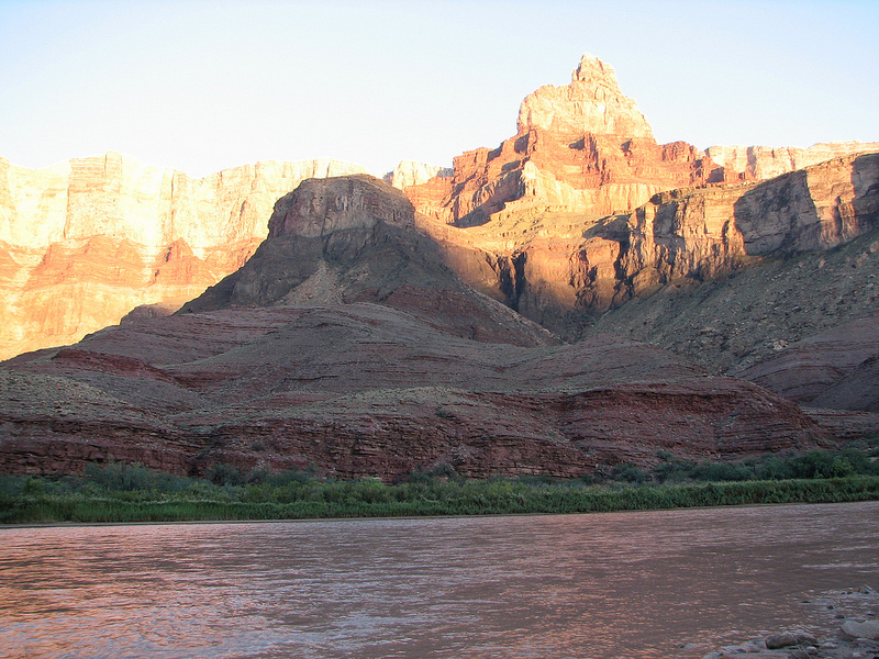 Picture of Grand Canyon and Colorado River